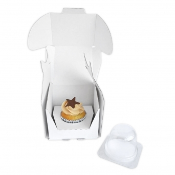 Cakes Away Onesie Postable Cupcake Box