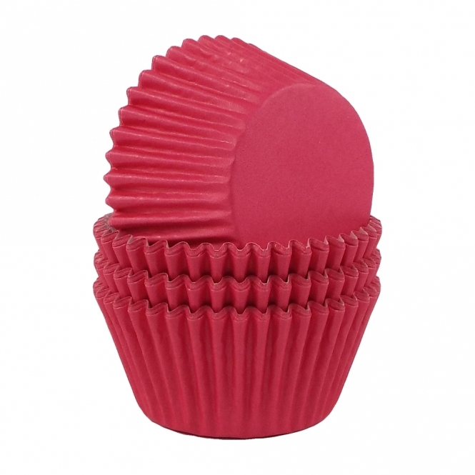 The Cake Decorating Co. Cerise Pink Baking Cases x 180 Cups
