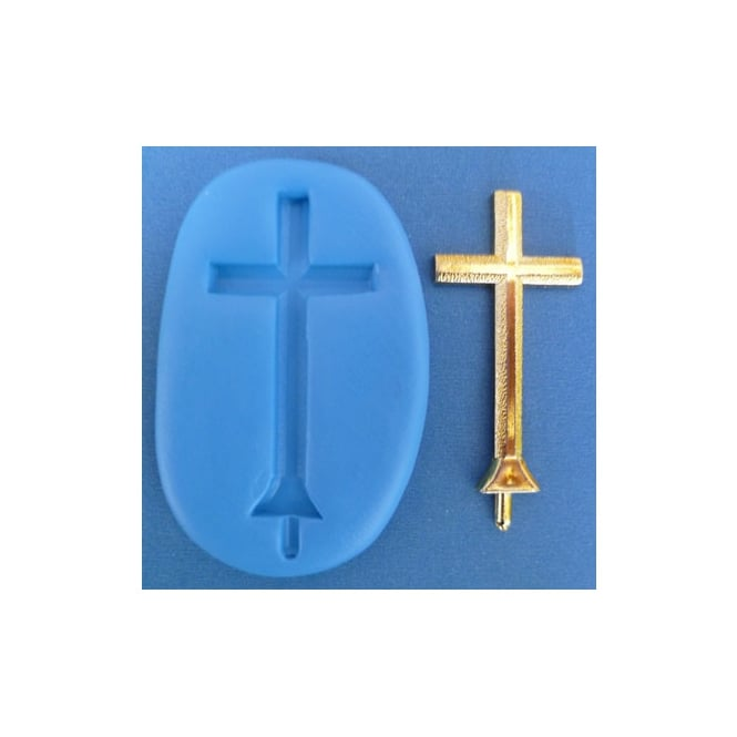 The Cake Decorating Co. Christian Cross Silicone Mould
