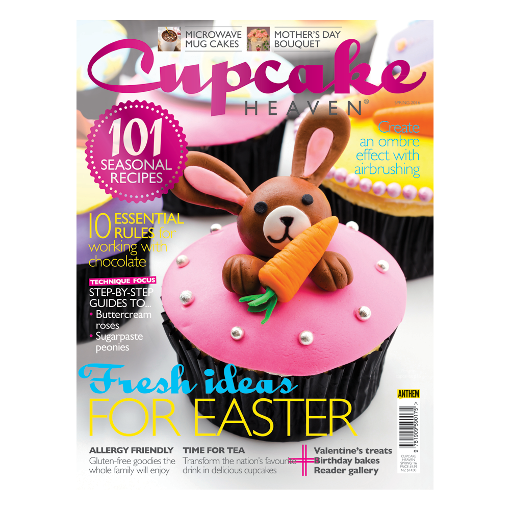 The Cake Decorating Co. Cupcake Heaven - Spring 2016 Issue ...