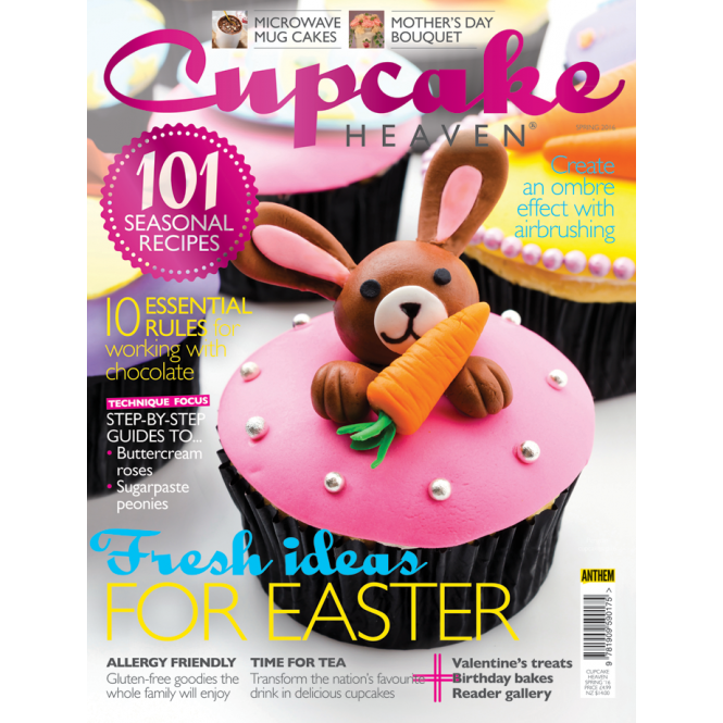 The Cake Decorating Co. Cupcake Heaven - Spring 2016 Issue