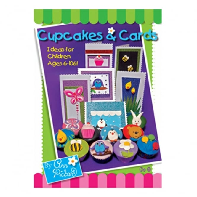 The Cake Decorating Co. Cupcakes And Cards No1 Novelties Book By Ann Pickard