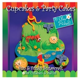 Cupcakes And Party Cakes Book By Ann Pickard - Signed Copy