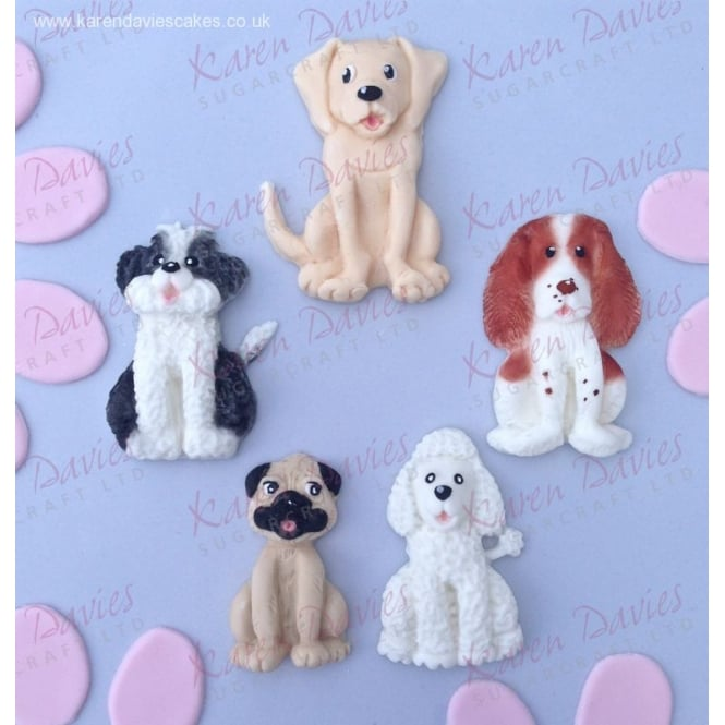 The Cake Decorating Co. Dogs By Alice Mould - Karen Davies