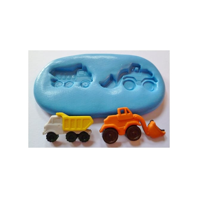 The Cake Decorating Co. Dumper Truck Silicone Mould