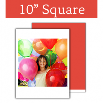 Edible Image Sheet Square 10 x 10 Inch