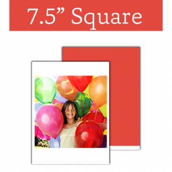 Edible Image Sheet Square 7.5 x 7.5 Inch
