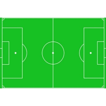 Football Pitch Edible Icing Sheet