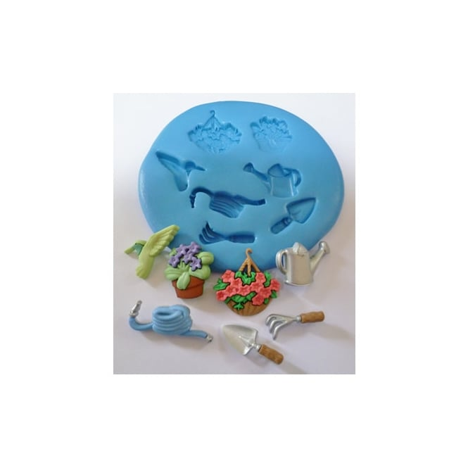 The Cake Decorating Co. Gardening Silicone Mould