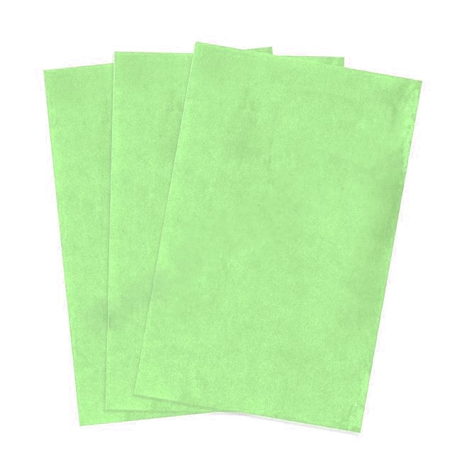 The Cake Decorating Co. Green Edible A4 Wafer Paper - Pack Of 100