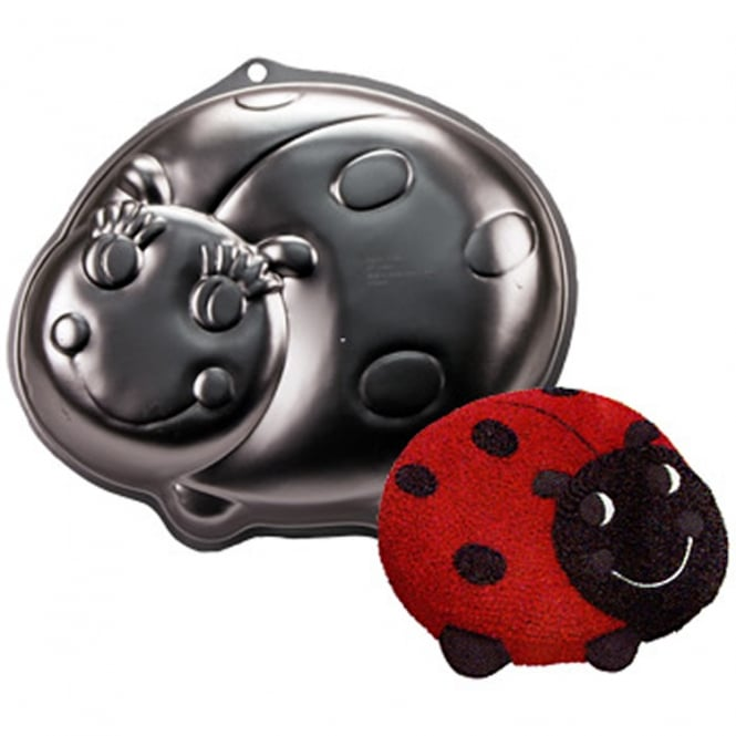 The Cake Decorating Co. Ladybird Baking Pan