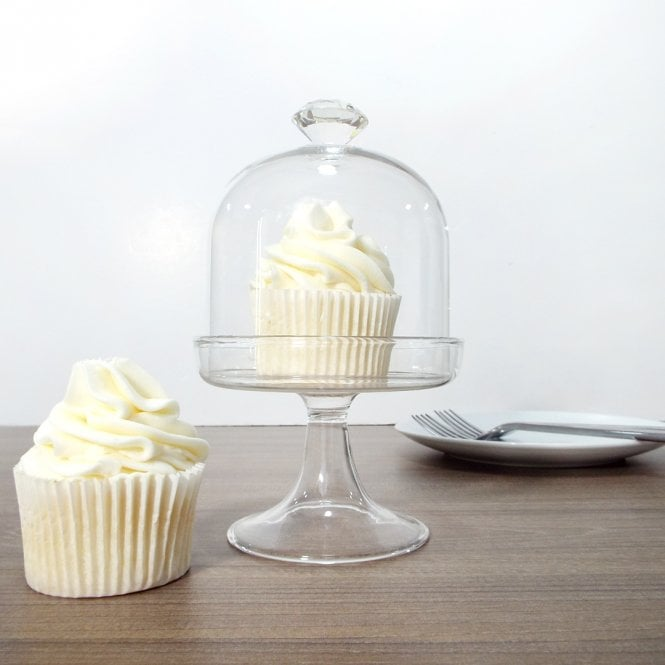 The Cake Decorating Co. Medium Vintage Diamante Glass Dome With Swarovski Elements By Claire Bowman