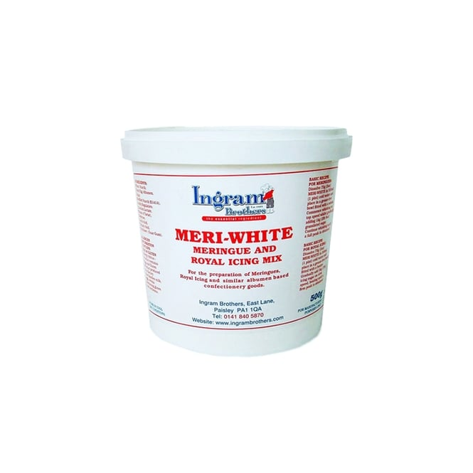 The Cake Decorating Co. Meri White For Royal Icing And Meringues 500g