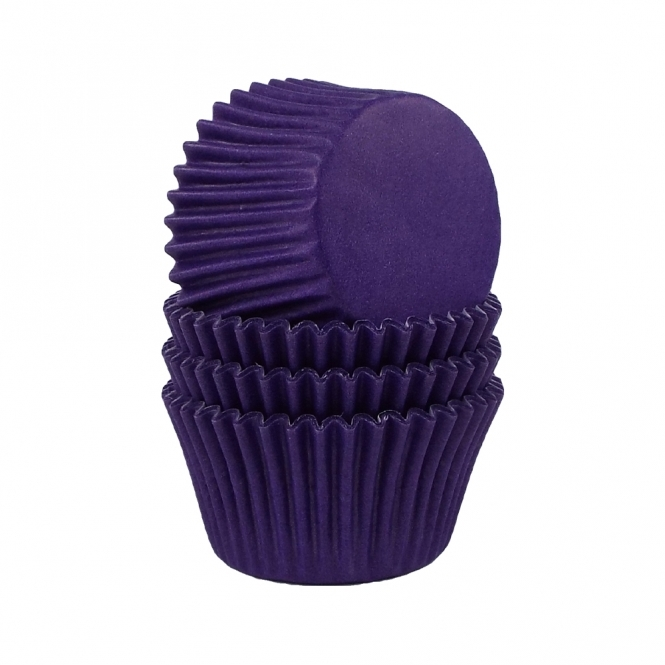 The Cake Decorating Co. Purple Baking Cases x 180 Cups