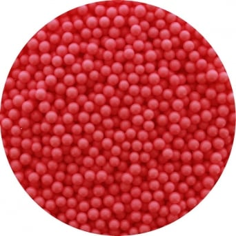 Red 4mm Edible Pearls - 1KG