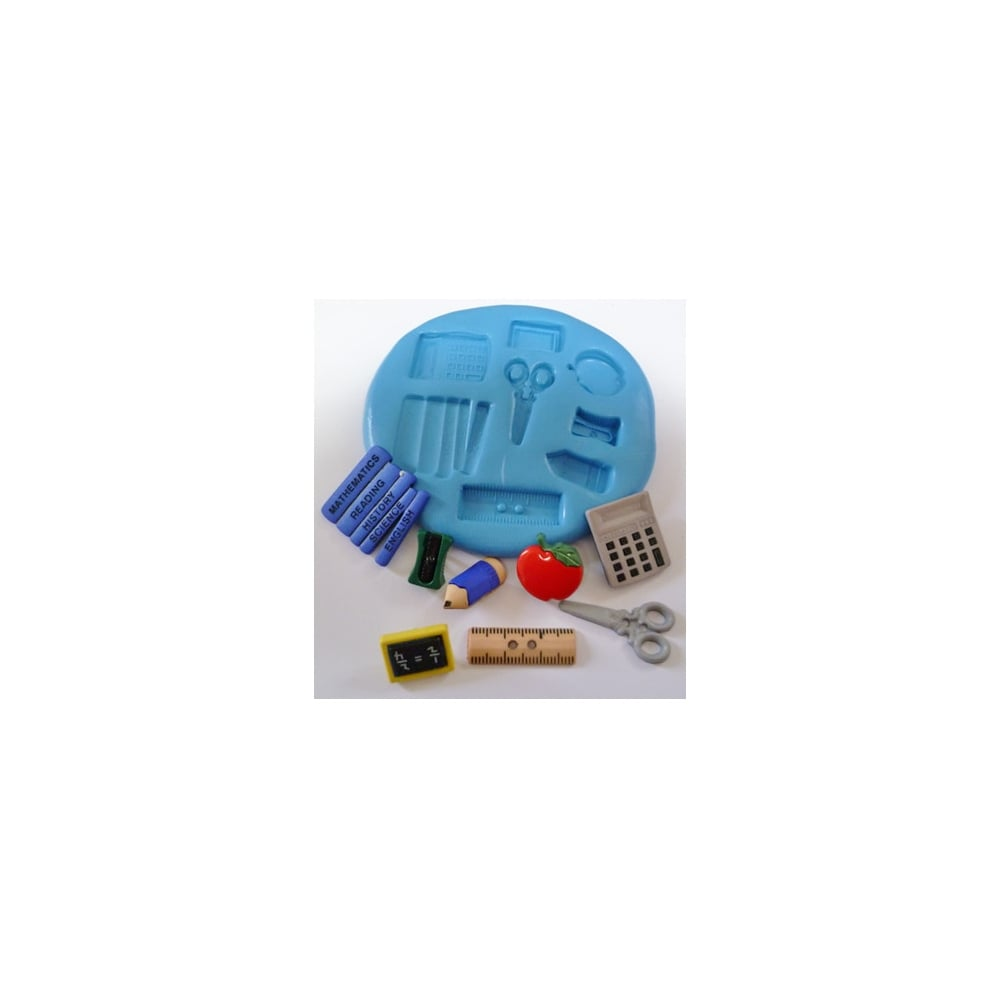 The Cake Decorating Co. School Silicone Mould - Tools ...