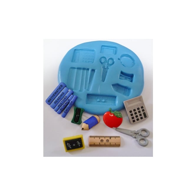 The Cake Decorating Co. School Silicone Mould