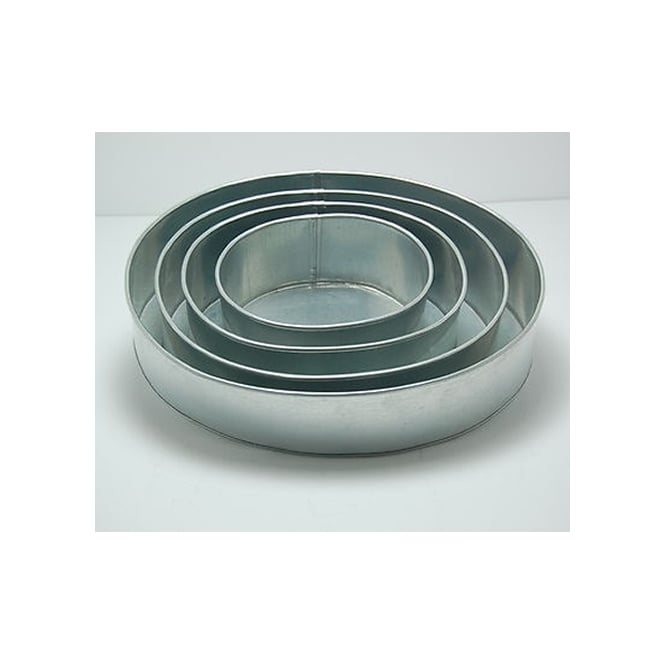 The Cake Decorating Co. Set Of 4 Tier Oval Baking Tins