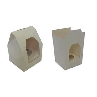 Single Cupcake Box With Window And Insert