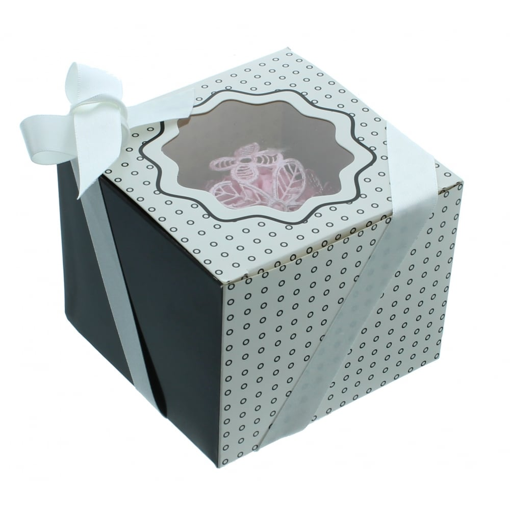 The Cake Decorating Company : The Cake Decorating Co. Single Luxury Satin Cupcake Box ...
