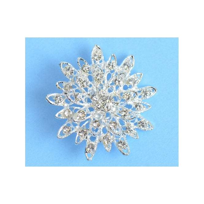 The Cake Decorating Co. Star Crystal Diamante Brooch Decoration
