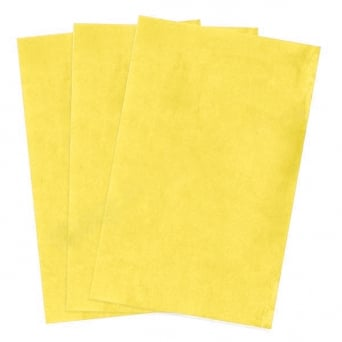 Yellow Edible A4 Wafer Paper - Pack Of 100
