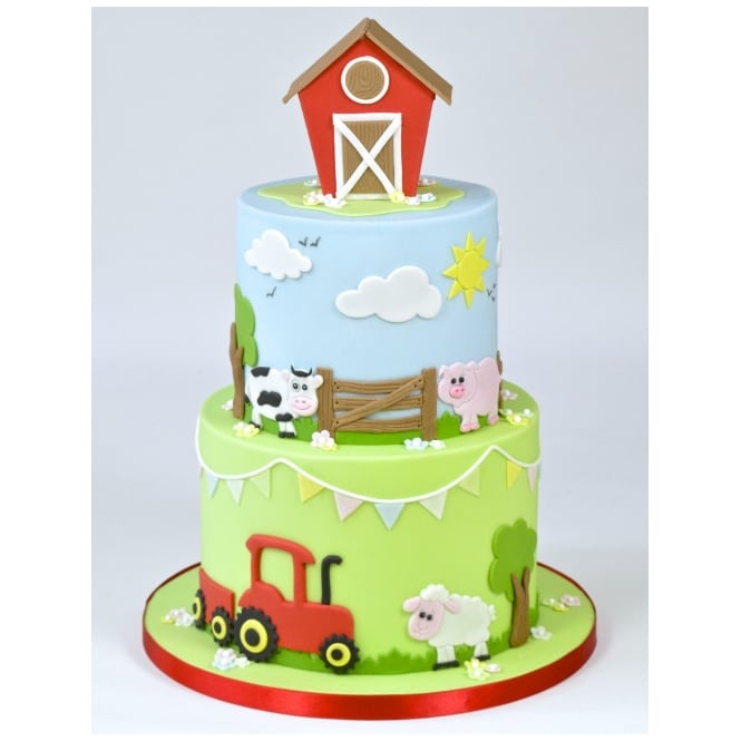 Tractor Cake Decorations Uk : FMM Tractor Cutter Set - FMM - Tools & Equipment from The ...