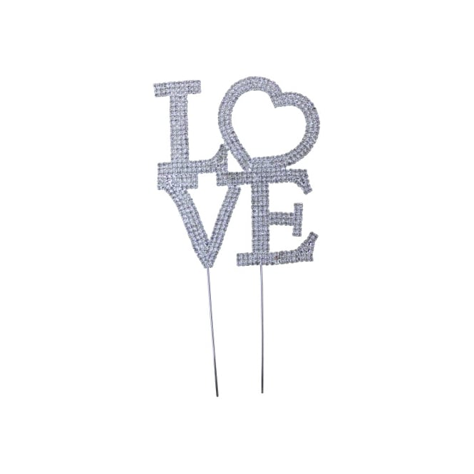 Uppercase Love Romantic Diamante Embellishment