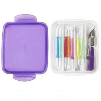 10 Piece Fondant Gum Paste Tool Set