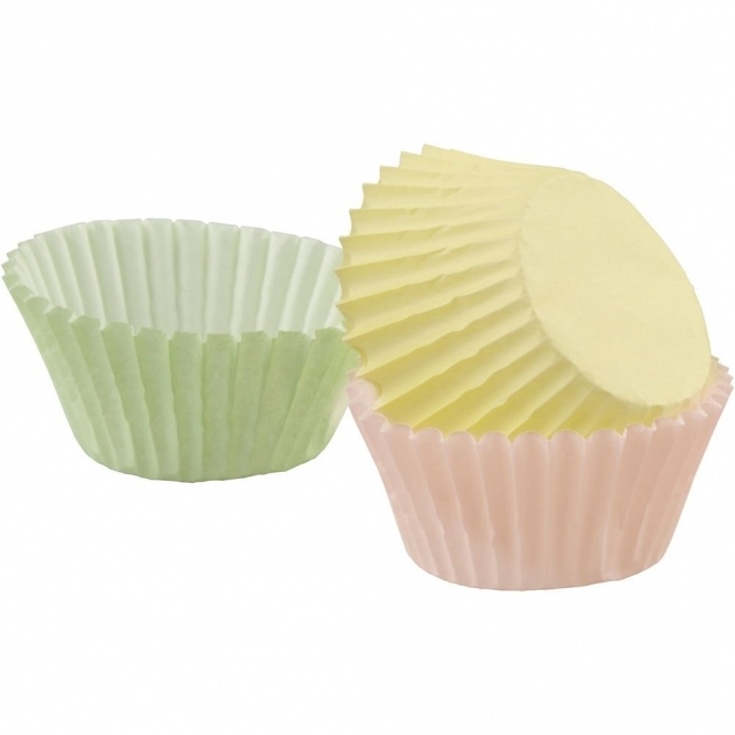 Wilton  Assorted Pastel - Baking Cases x 75 Cups