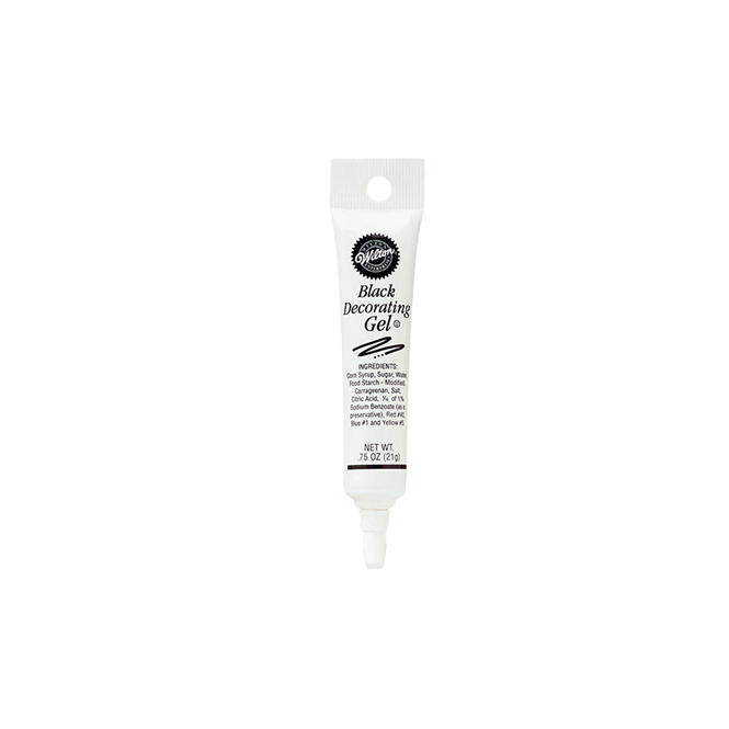 Wilton Black - Cake Decorating Gel 0.75 Oz