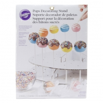 Cake Pop Decorating Stand Holds 44