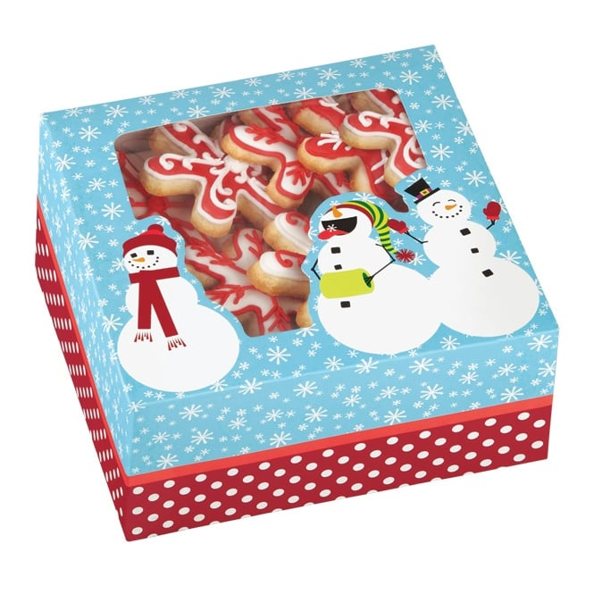 Wilton Christmas Medium Cookie Box - Set of 3