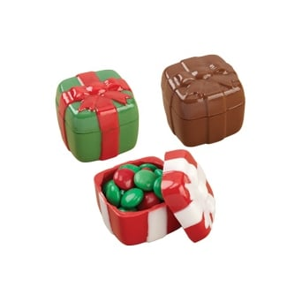 Christmas Present Container Chocolate Mould