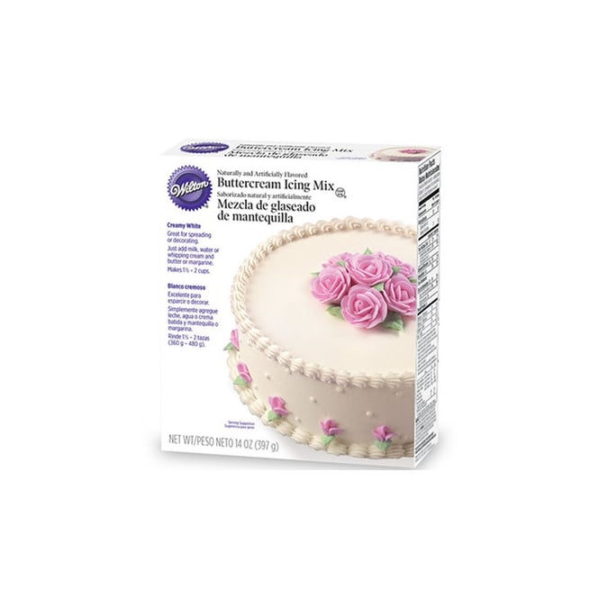 Wilton Creamy White – Buttercream Icing Mix 397g