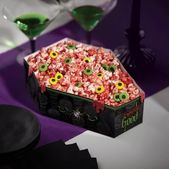 Deadly Soiree Halloween Coffin Party Bowl