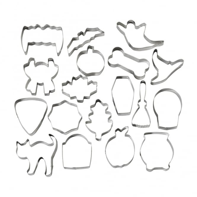Wilton Halloween 18 Piece Cookie Cutter Set
