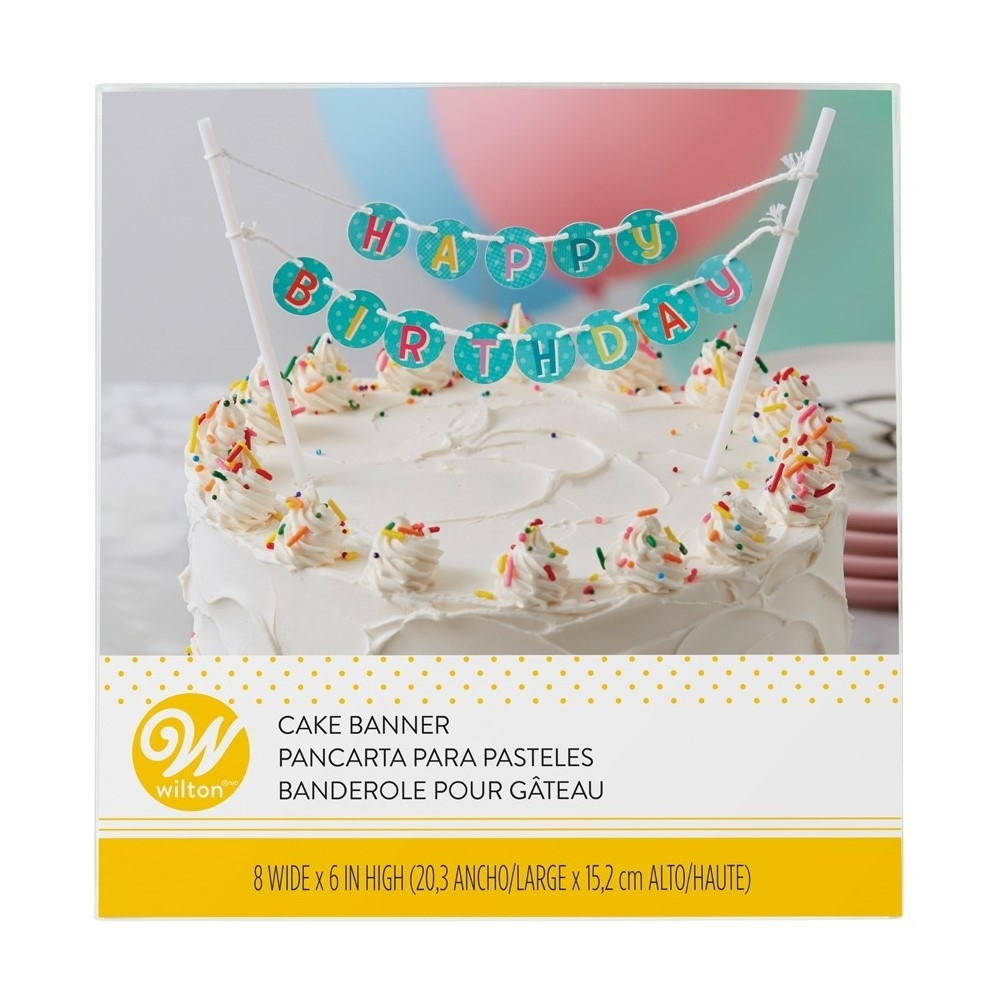 Miraculous Happy Birthday Cake Banner Happy Birthday Cake Toppers Funny Birthday Cards Online Overcheapnameinfo