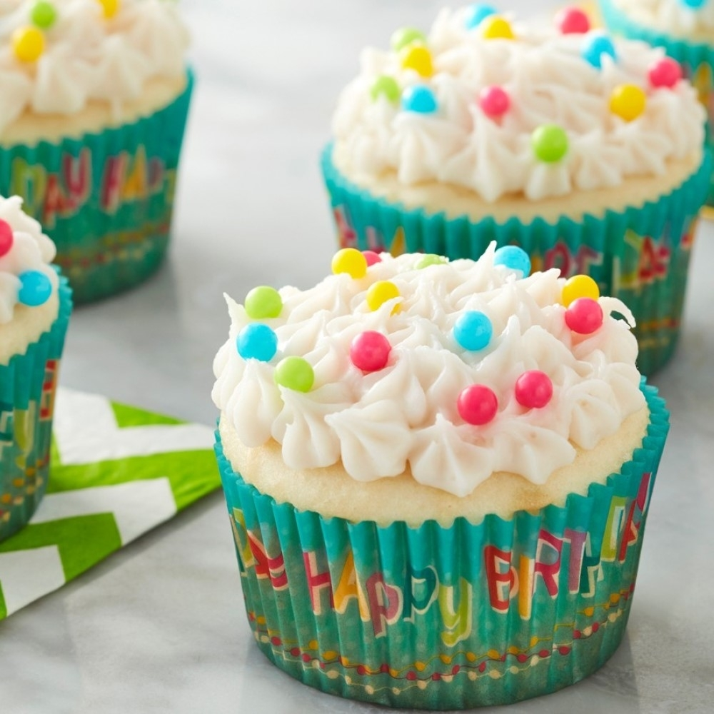 Amazing Happy Birthday Cupcake Cases Birthday Baking Cases Party Cakes Funny Birthday Cards Online Overcheapnameinfo