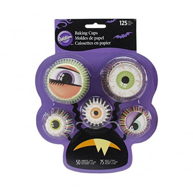 Wilton Mixed Monster Eye Baking Cups x 125