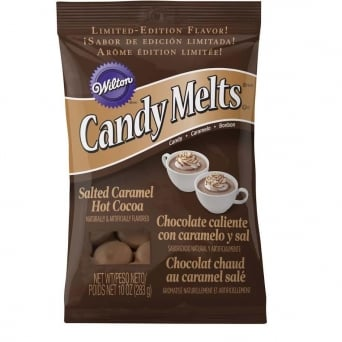 Salted Caramel Hot Chocolate Flavour – Candy Melts 283g