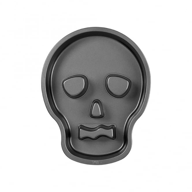 Wilton Skull Tube Baking Pan Tin
