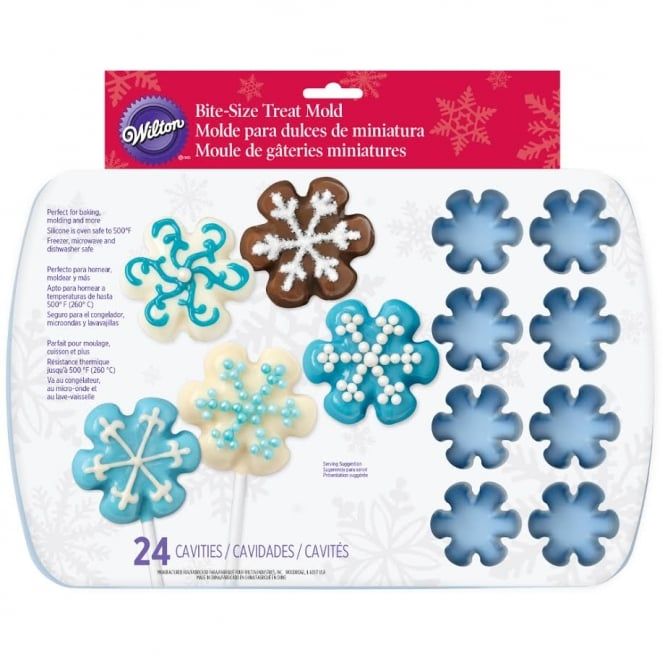 Wilton Snowflake 24 Cavity Christmas Mould