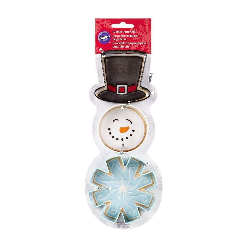 Wilton snowman cookie cutter