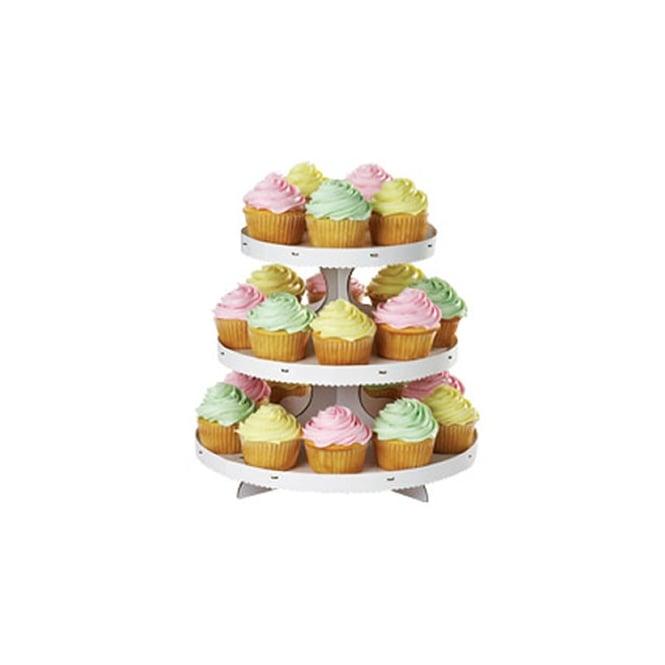 Wilton Three Tier Cupcake Stand - Presentation & Storage ...