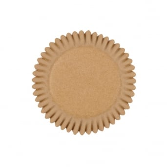 Unbleached Mini Baking Cups x 100