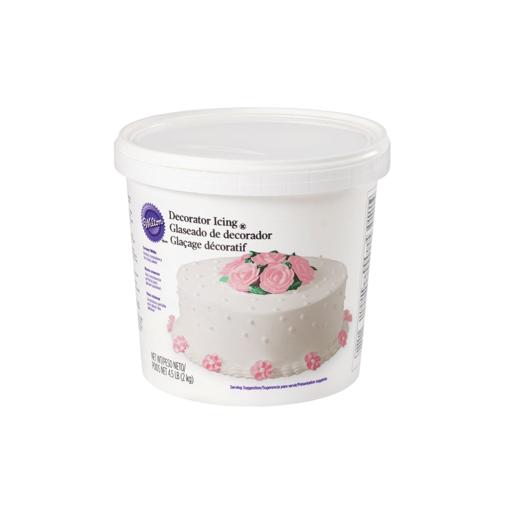 Wilton White – Decorator Icing 2kg - Cake Decorating ...